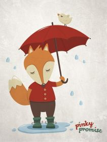 fox-red-umbrella